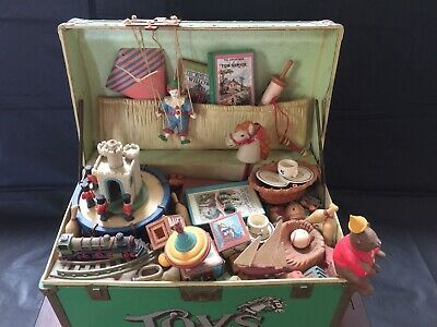 "Vintage ENESCO Toy Symphony Small World Musicals ""ELECTRIC"" $180 Free Post"