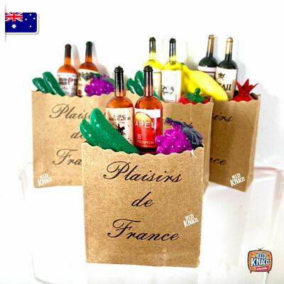 Mini Collectables - Bag of Groceries *varieties* | Add to your Coles Little Shop