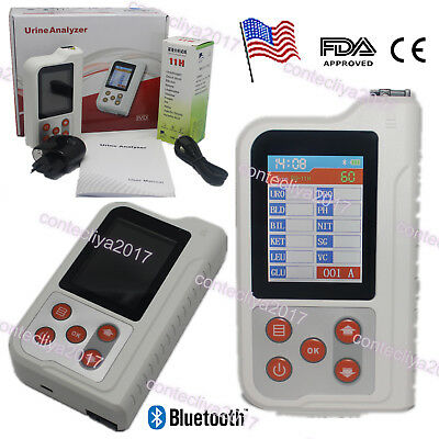 "US Seller,BC401 Handheld Digital Urine Analyzer with 100PCS Test Strips,2.4"" LCD"