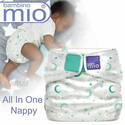 Bambino Mio Miosolo All In One Nappy│Polyester│For Baby No Moisturiser│S Dreams