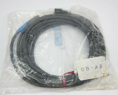 NEW KEYENCE CB-A5 5 Meter Cable For Displacement Sensor Head