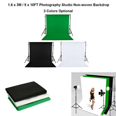 1.6 x 3M / 5 x 10FT Photography Studio Non-woven Backdrop/Background Screen