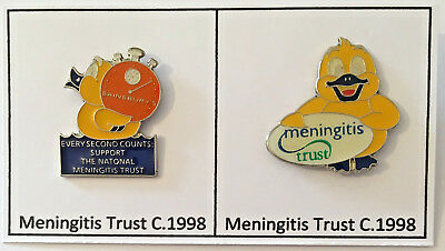 Cystic Fibrosis Trust Duck pin badge