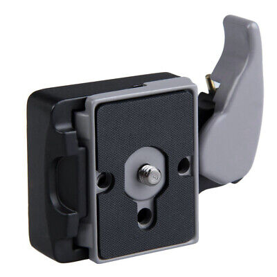 Camera 323 Quick Release Clamp Adapter + Quick Release Plate for Manfrotto