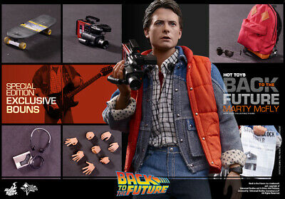 (AU) Hot Toys 1/6 Back to the Future MMS257B Marty Mcfly Limited Edition Figure