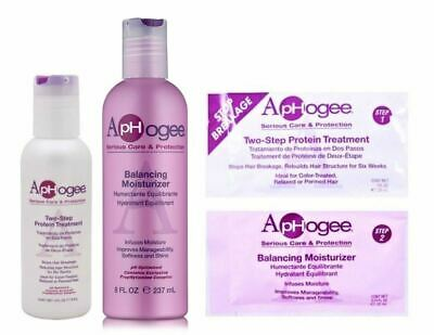 Aphogee Two Step Protein Treatment with Balancing Moisturizer