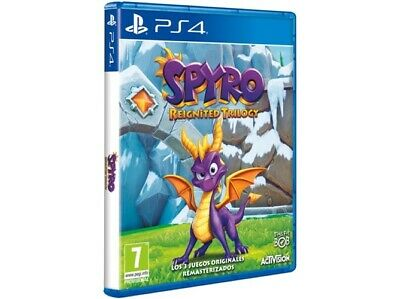 Juego Ps4 Spyro Reignited Trilogy Ps4 4515598