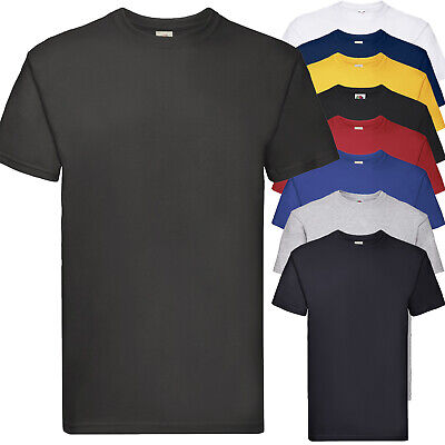 Maglietta Da Lavoro T-Shirt 100% Cotone Pesante FRUIT OF THE LOOM Superpremium