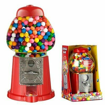 Gumball Vending Machine Dispenser Sweet Bubblegum Fun Kids Toy Chewing Gum New