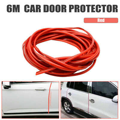 6M Chrome Porte VoitureBord Garde Protecteur Moulage Trim Molding Strip