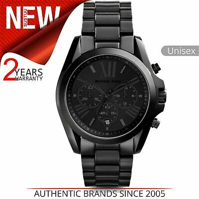 Michael Kors Bradshaw Unisex Watch MK5550│Black Chronograph Dial│Bracelet Band