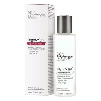 Skin Doctors Ingrow Go Ingrown Hair Treatment Remover Lotion Solution Hairs Anti