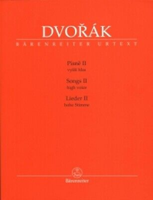 DVORAK SONGS II High Voice & Piano