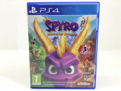 Juego Ps4 Spyro Reignited Trilogy Ps4 4516058