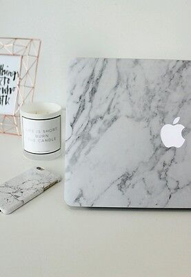 "NEW MacBook Pro No Touchbar 13"" MARBLE Sticker Decal Skin - FULL SET"