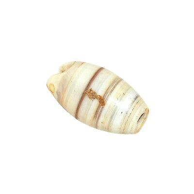 (2436) Bactrian Banded Agate Bead from China-Tibet,  唐朝