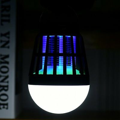Solar Powered Buzz UV Lamp Light Fly Insect Bug Mosquito Zapper Killer LOT HNLE