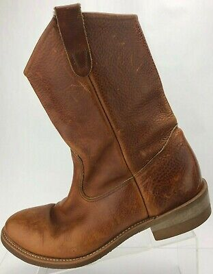 0f8a69f7169 DOUBLE H WORK Boots Ranchwell Brown Oil Resistant Western Cowboy USA Mens  12 D