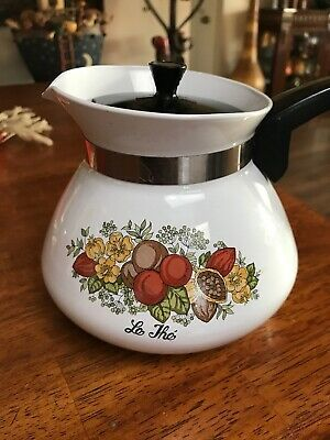 Vintage Corning Ware 6 Cup Tea Pot - Spice of Life - P 104-8