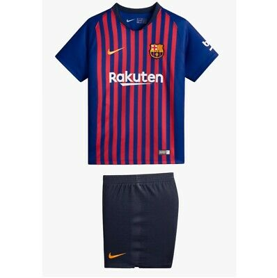 football kids home kit barcelona 2018/19 new with tags fast delivery