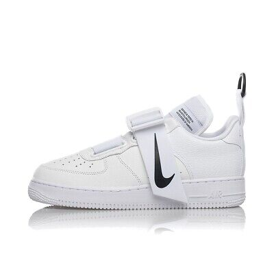 NIKE AIR FORCE 1 UTILITY AO1531-101 sneakers bianca limited edition hype militar