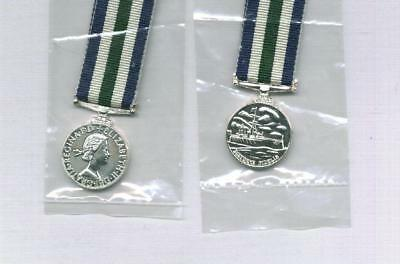 ONE Miniature medal for the ROYAL NAVY LSGC post 1959 - EIIR by TKS