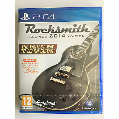Rocksmith 2014 Edition Game (PS4) New and Sealed