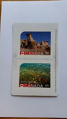 2015 UNESCO World Heritage Park Sites ERROR  Booklet stamp -
