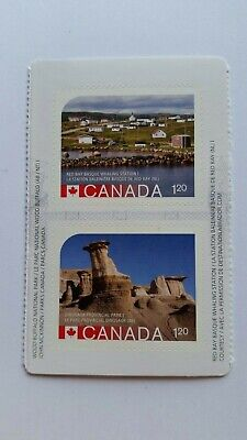 2015 UNESCO World Heritage Park Sites ERROR  Booklet stamp - sc 2845/2846
