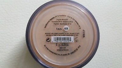 BareMinerals Original Foundation SPF15 in Tan (N30) 8g, Brand New and Sealed