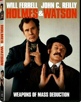 Holmes And Watson (DVD,2018) NEW-Adventure, Comedy- FREE SHIPPING!!!!!