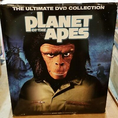 Planet of the Apes The Ultimate Collection DVD, 2009, 14-Disc Set, Widescreen