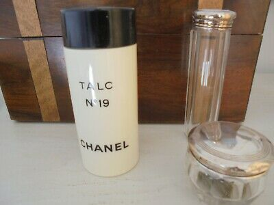 Chanel No 19 - Rare Perfumed Body Powder - 150 G Just Over Two Thirds Used