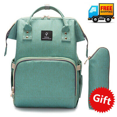 Waterproof Mummy Diaper Bags Maternity Baby Nappy Large Backpack Changing Bag