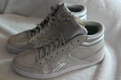 477fb926d7d0 Reebok Womens Royal Aspire 2 Athletic Shoe high top Size 9 silver glitter