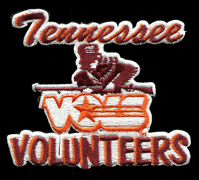 """tennessee patch VOLS patch VOLUNTEERS 5 1//8/"""" wide LETTER T TEAM LOGO PATCH"""
