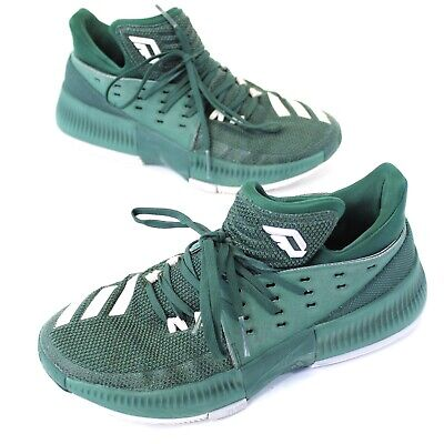competitive price 9df14 36a6f Adidas Damian Lillard Basketball Shoes Dame 3 BY3194 MENS 7 Lace Up Green