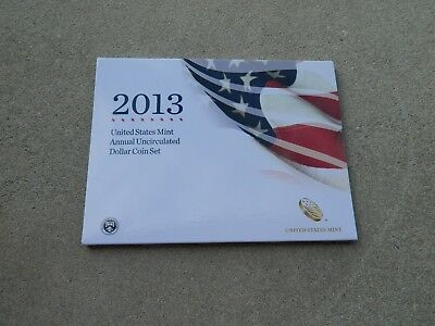 2013 U.s. Mint Annual Uncirculated Dollar Coin Set