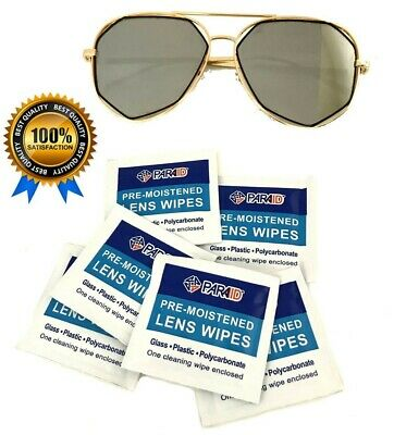 PARA-AID 300CT Pre-Moistened Lens Cleaning Towelettes Wipes Camera Glasses Clean