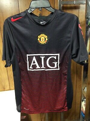 2484f673a MENS GUC RED NIKE Fit Dry MUFC Manchester United Sleeveless Jersey ...
