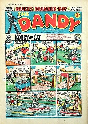 DANDY - 30th MAY 1959 (26 May - 1 June) RARE 60th BIRTHDAY GIFT !! FINE...beezer
