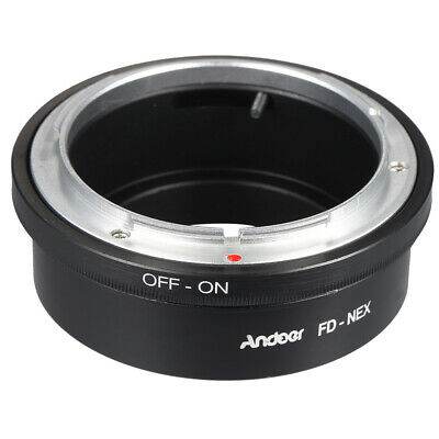 Andoer FD-NEX Adapter Ring Lens Mount for Canon FD Lens to Fit for Sony NEX X0O5