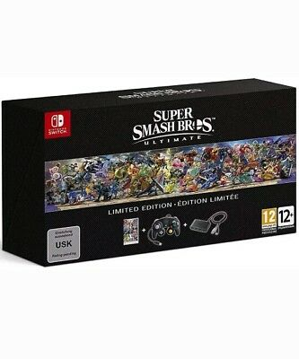 Super Smash Bros. Ultimate Limited Edition - Switch - In Hand