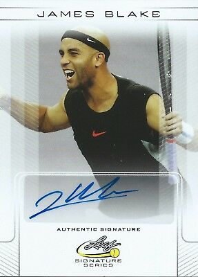 2017 Leaf Signature Series Tennis Base #BA-JB1 James Blake Autographed