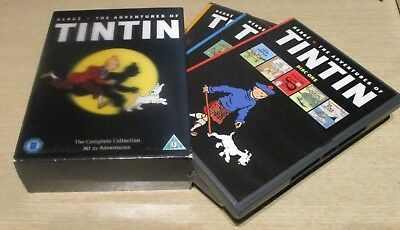 DVD (Kids) - Herge The Adventures Of TinTin (The Complete Collection)