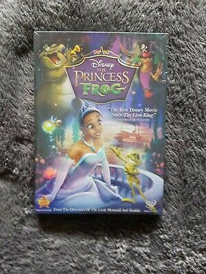 The Princess and the Frog DVD Disney Movie Free Shipping New & Sealed