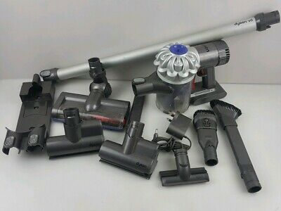 DYSON V6 Handheld Cordless Vacuum Cleaner WITH EXTRAS READ DESCRIPTION