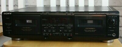 Sony TC-WE805S Dolby S twin cassette Deck, serviced