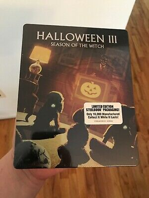 Halloween III 3 Steelbook Blu-ray NEW Sealed Limited Edition Scream Factory