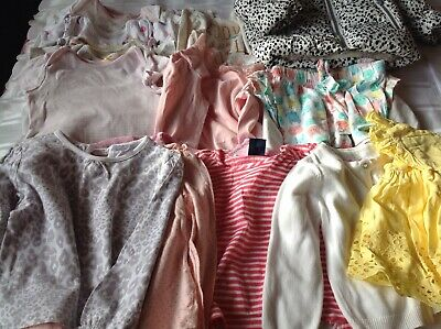 Baby Girls Clothes Bundle 9-12 Months. Some BNWOT. Free P&P  next & Mothercare